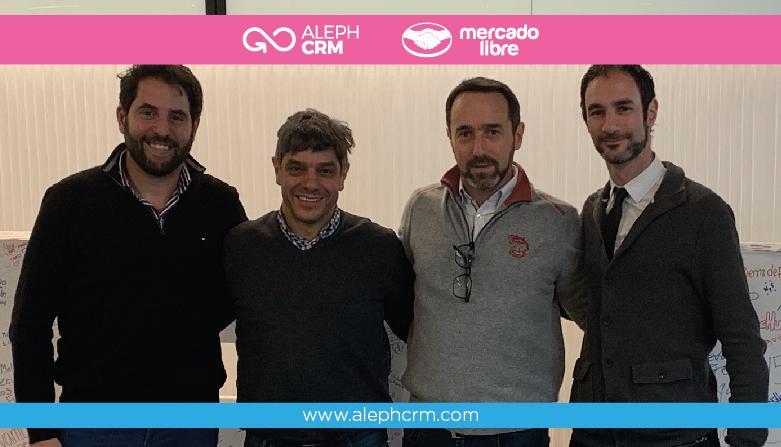 AlephCRM, Mercado Livre, Marcos Galperin e o futuro trabalhando juntos!