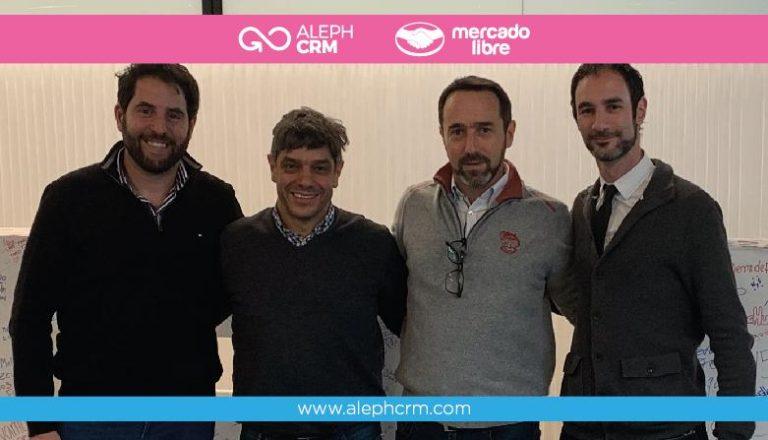 AlephCRM, Mercado Libre, Marcos Galperin y el futuro trabajando en equipo