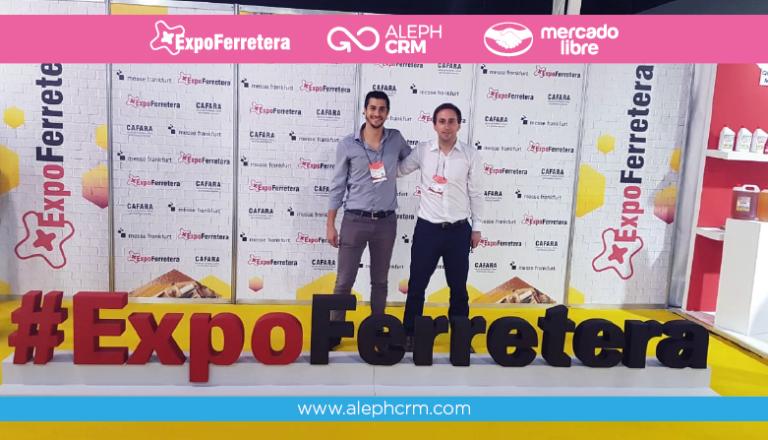 AlephCRM presente en ExpoFerretera