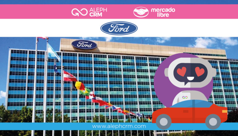 Ford launches its Official Store in Mercado Libre with AlephCRM as a platform