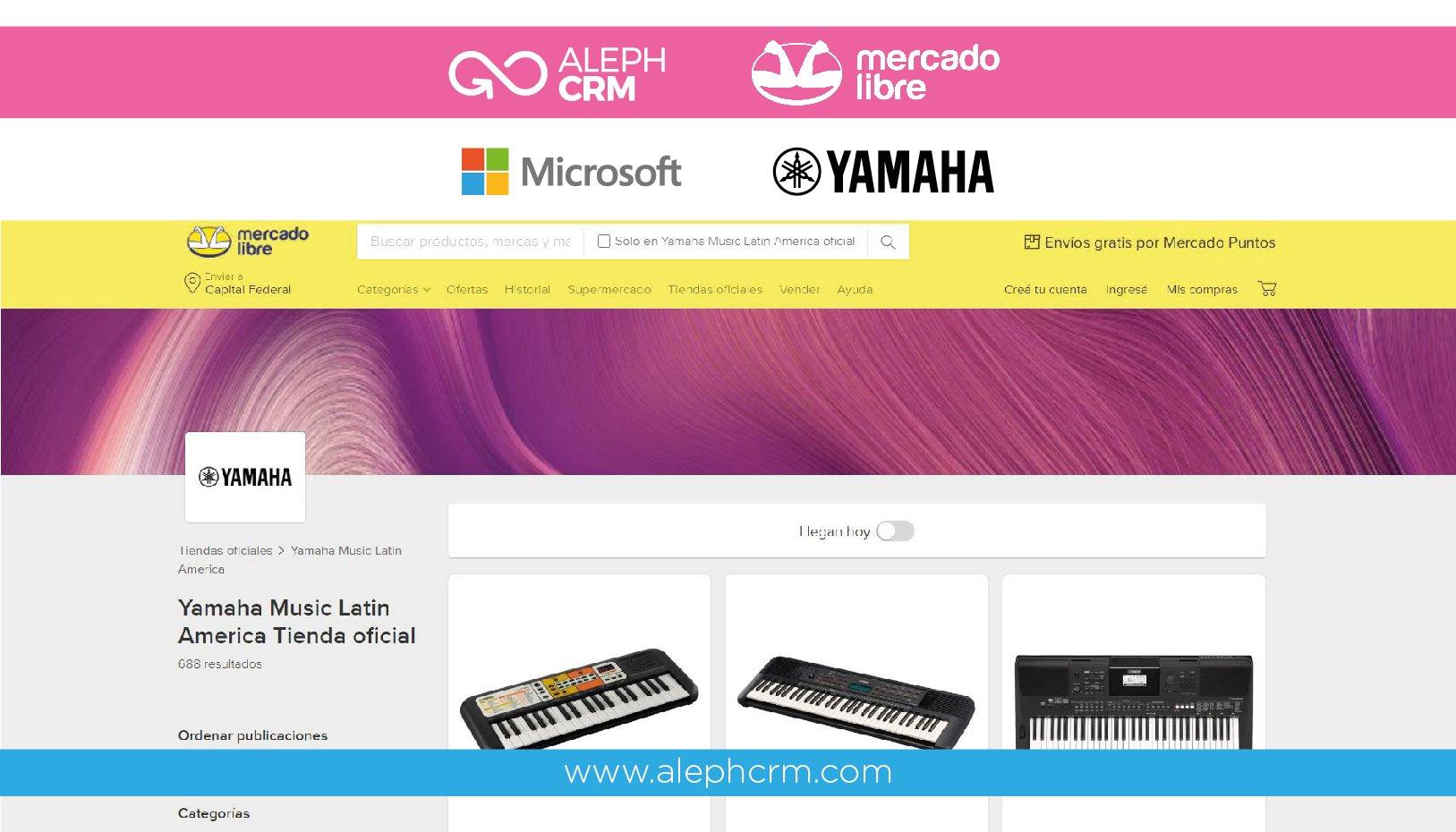 AlephCRM acompaña a las Pymes en el desarrollo del negocio electrónico