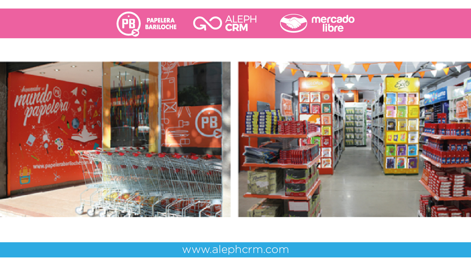 Papelera Bariloche incorporates an innovative tool to promote e-commerce in stationary stores