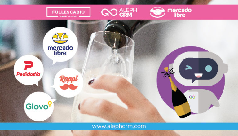AlephCRM, Full Escabio, MercadoLibre, Rappi, Glovo and PedidosYA begin the transformation of the food and beverage industry