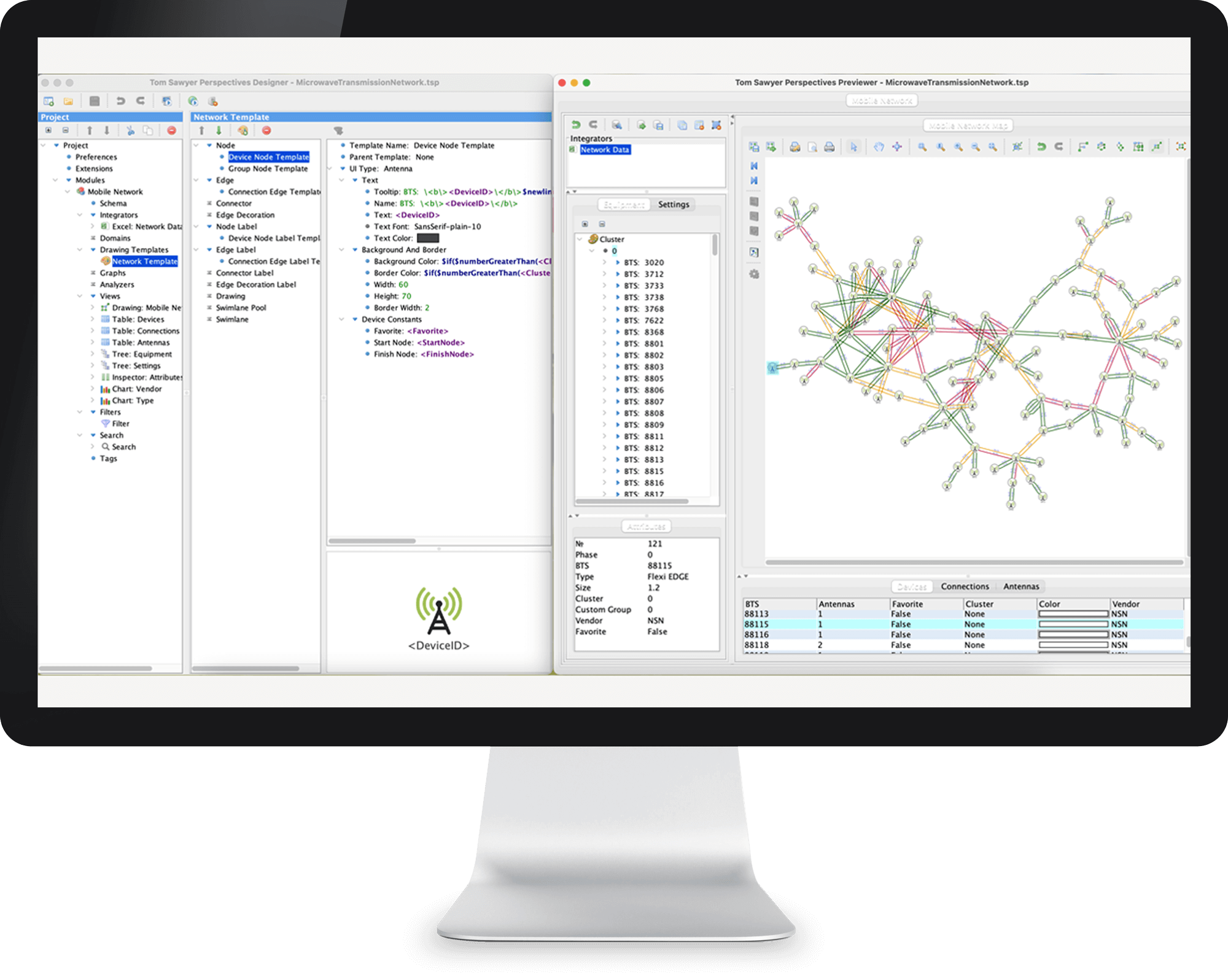 Perspectives is a low-code graph and data visualization development platform for building data-oriented applications fast.