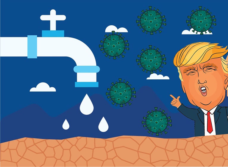Trump, Covid and Water Shortages – The Smart Phone Effect
