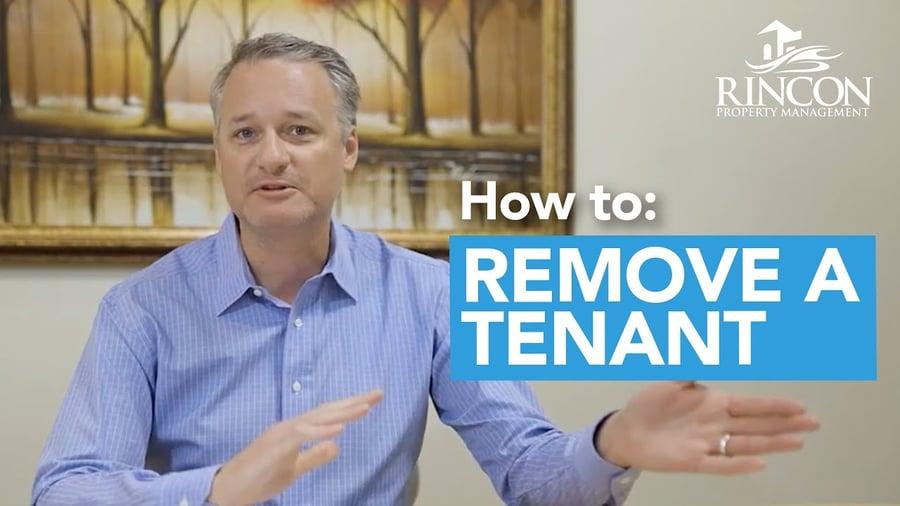 How Do I Remove a Tenant?<