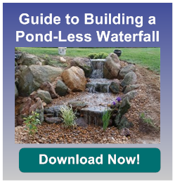 how to build a waterfall