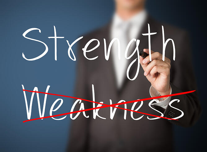 How To Turn Weaknesses Into Strengths