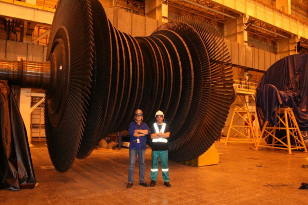 Electrical turbine, South Africa