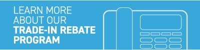 trade in rebate CTA button