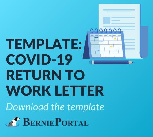 Return to Work Leter