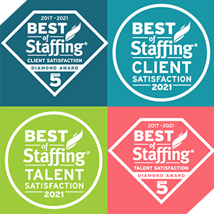 ClearlyRated Best of Staffing Awards