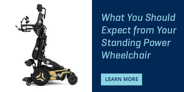 What you should expect from your standing wheelchair