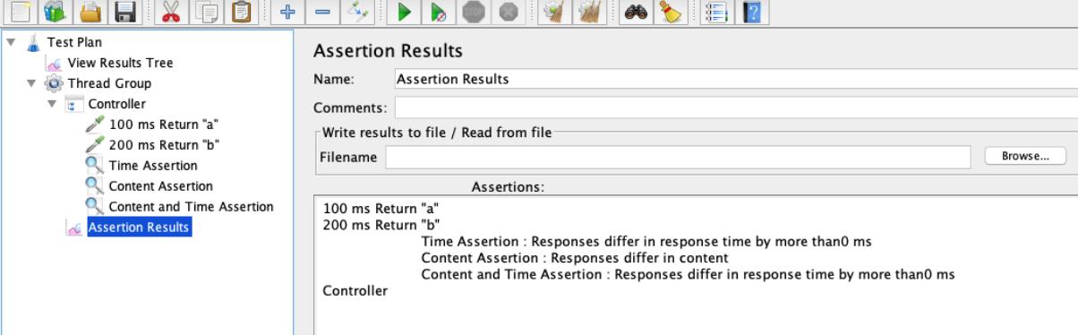 jmeter assertions