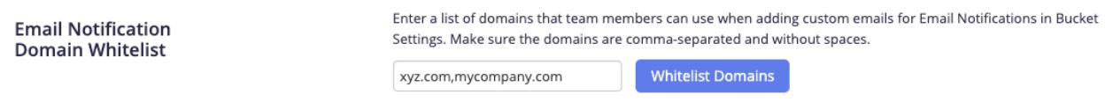 Email Whitelist