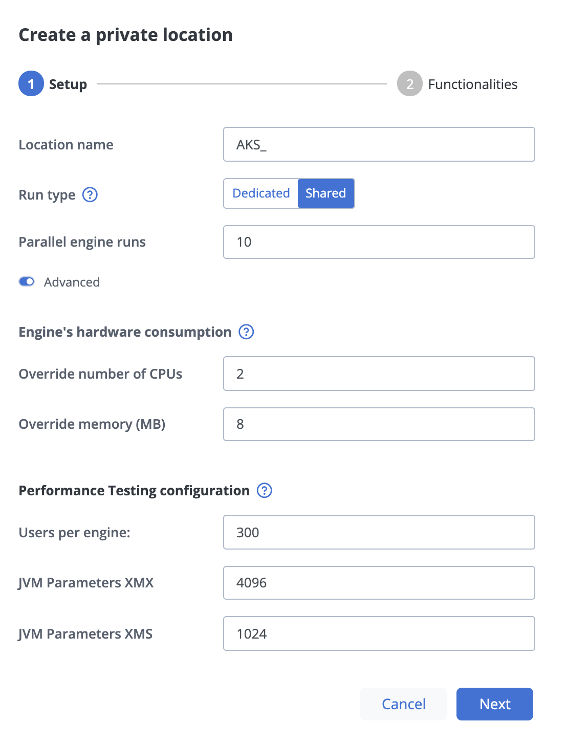 Deploying BlazeMeter Private Locations on Azure Kubernetes Service