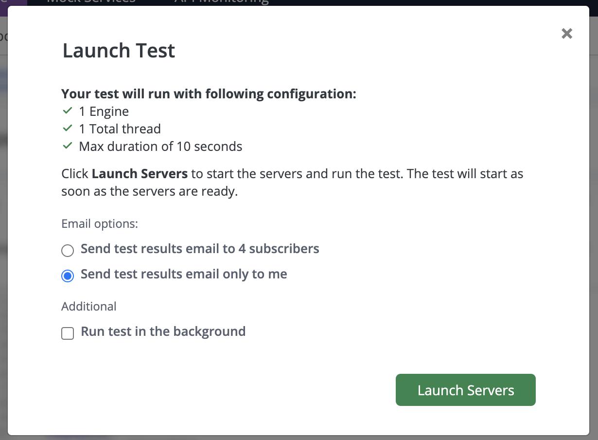 Launch Test