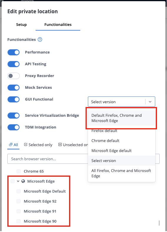 New Browser Added - Microsoft Edge