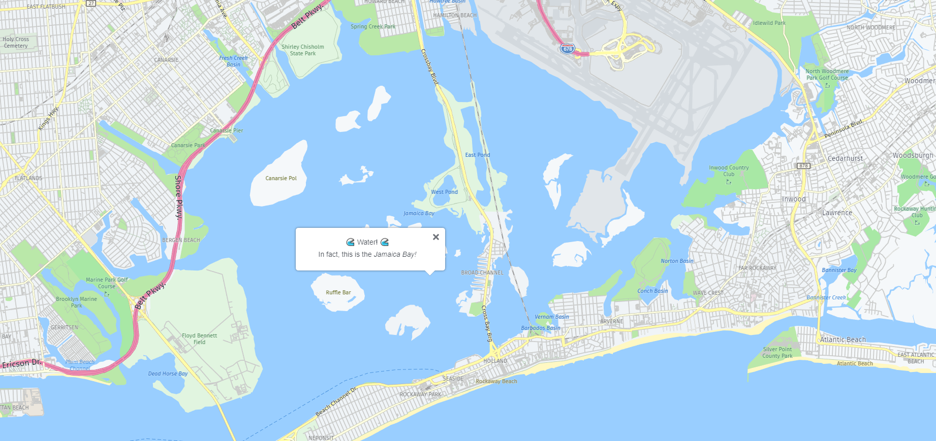 How to Find Out Whether a Location is on Land or Water