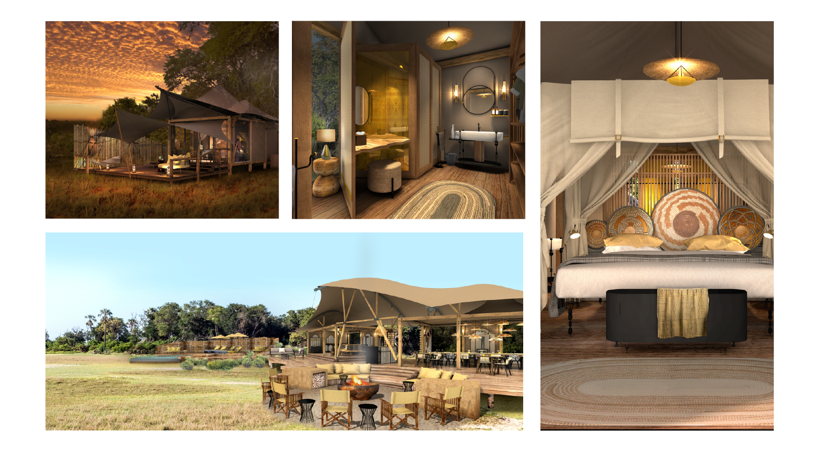 KWAI LEADWOOD renderings A Travel Bubble - Exclusive-use of Camps african bush camps safari