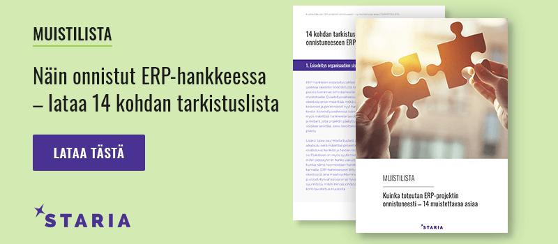 ERP-hankkeen-tarkistuslista