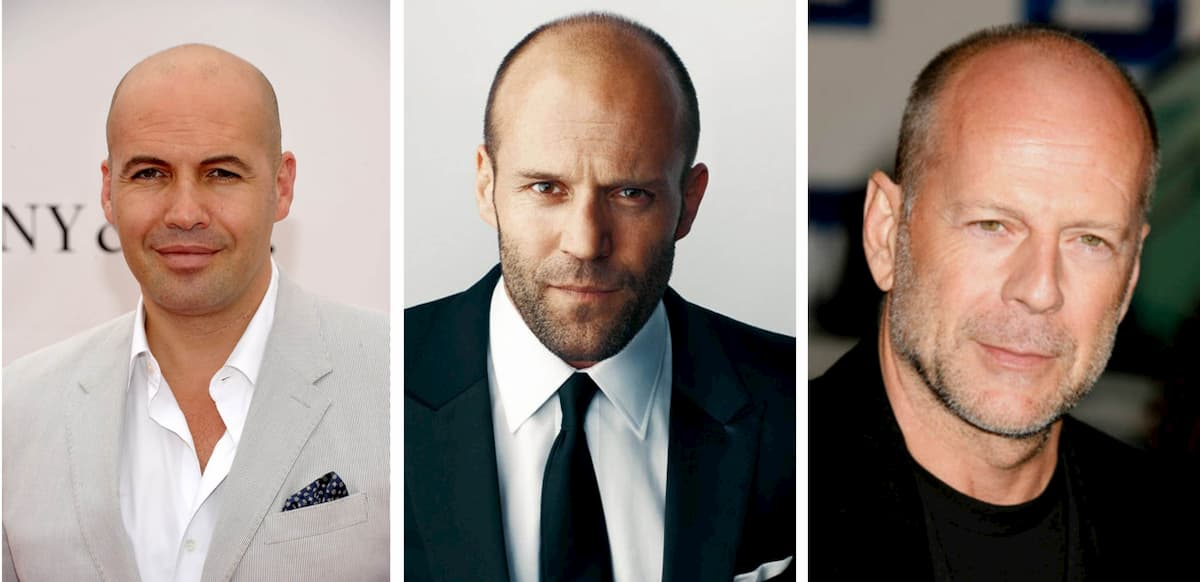 Billy Zane, Jason Statham and Bruce Willis