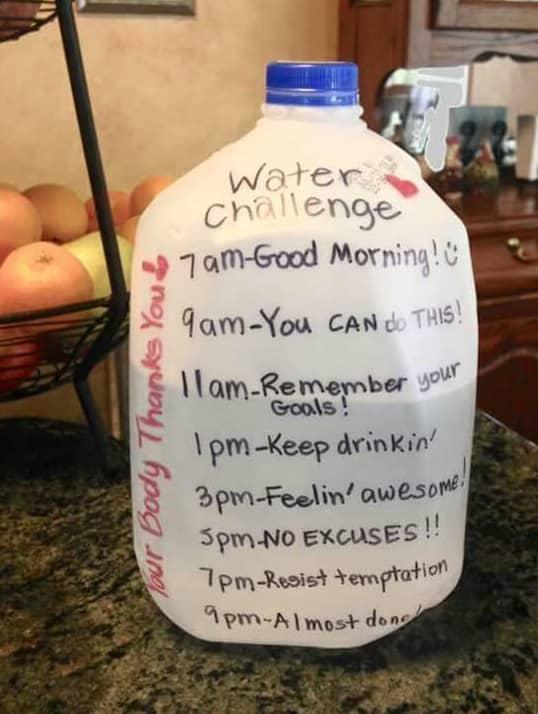 Water schedule