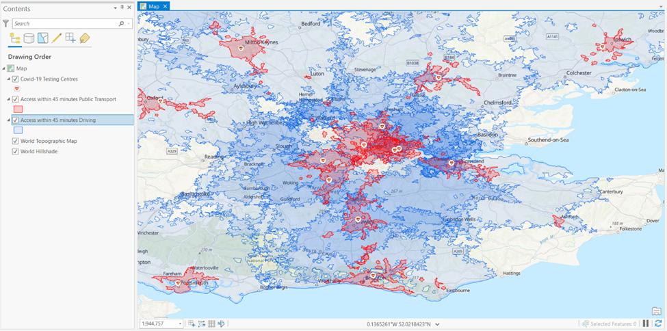 public transport travel time analysis