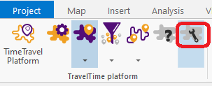 TravelTime ArcGIS add-in