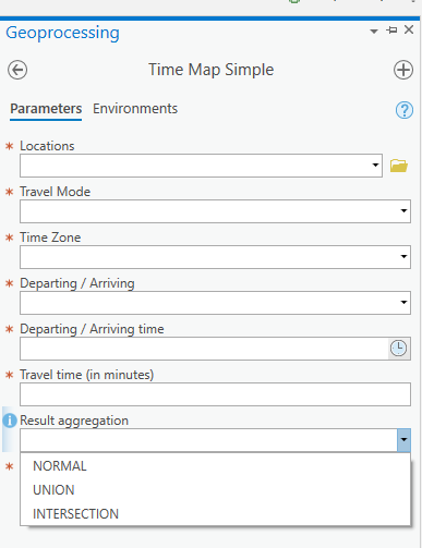 ArcGIS Time Map Simple tool