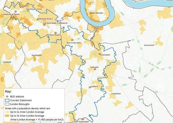 Baseline data on population density