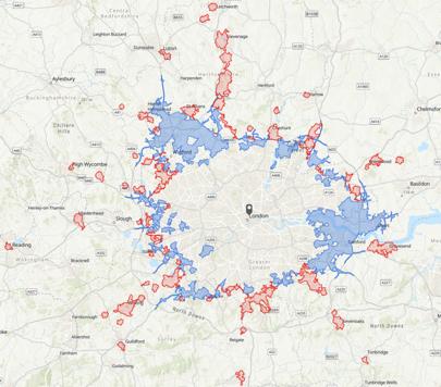 catchment area analysis