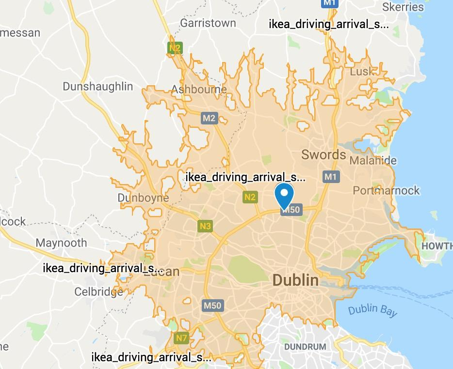 drive time map