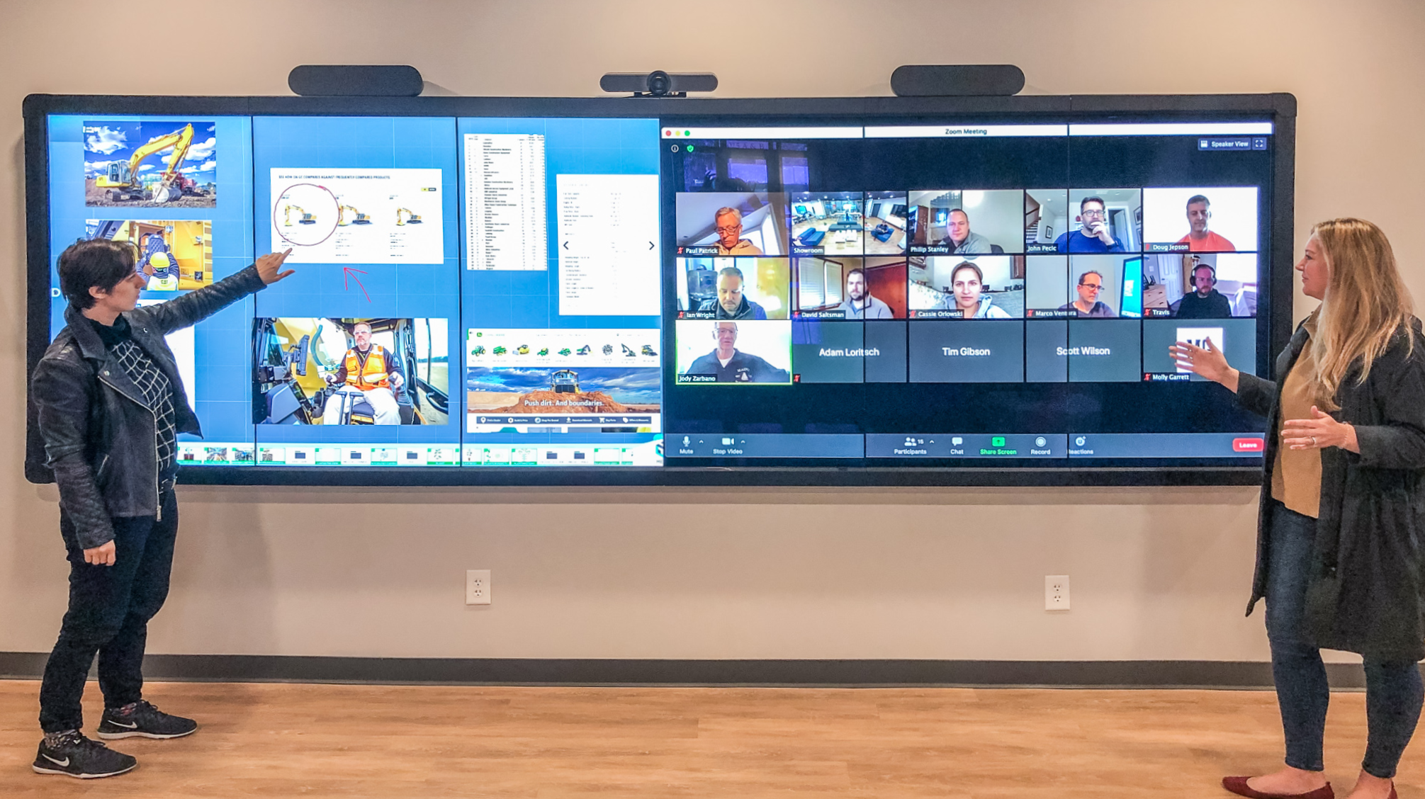 T1V-ThinkHub-Virtual-Selling-Video-Conferencing-Meeting-Visual-Content-Collaboration-MultiPanel