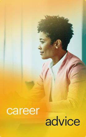 career advice button mobile