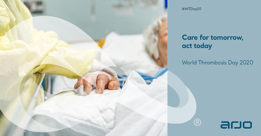 World Thrombosis Day: Care for tomorrow, act today