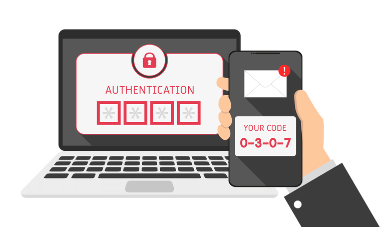 demonstrating how to do two step authentication