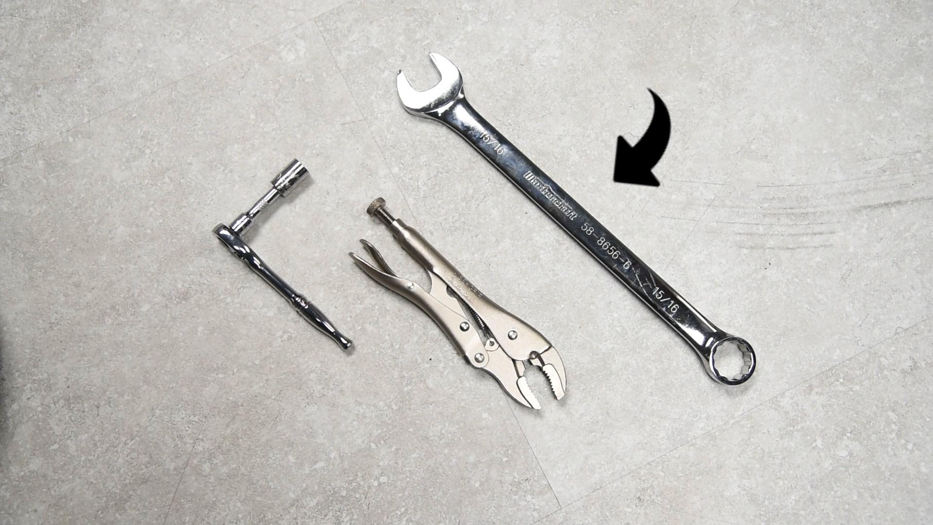 channel locks or vise grip locking pliers tools