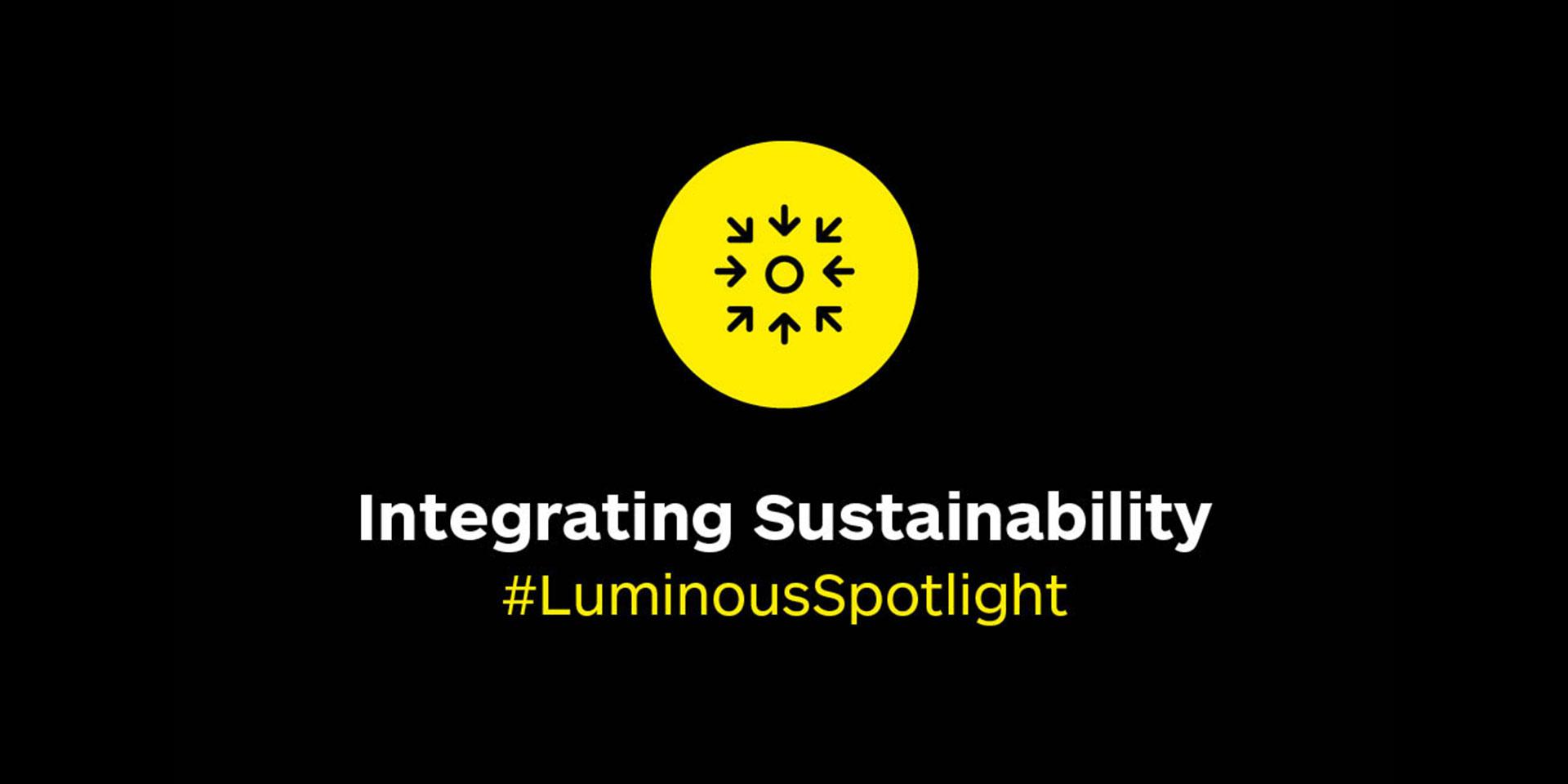 #illumination event 2: Integrating sustainability