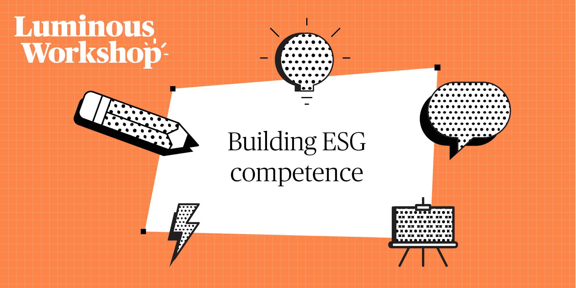 Luminous workshop on building ESG competence