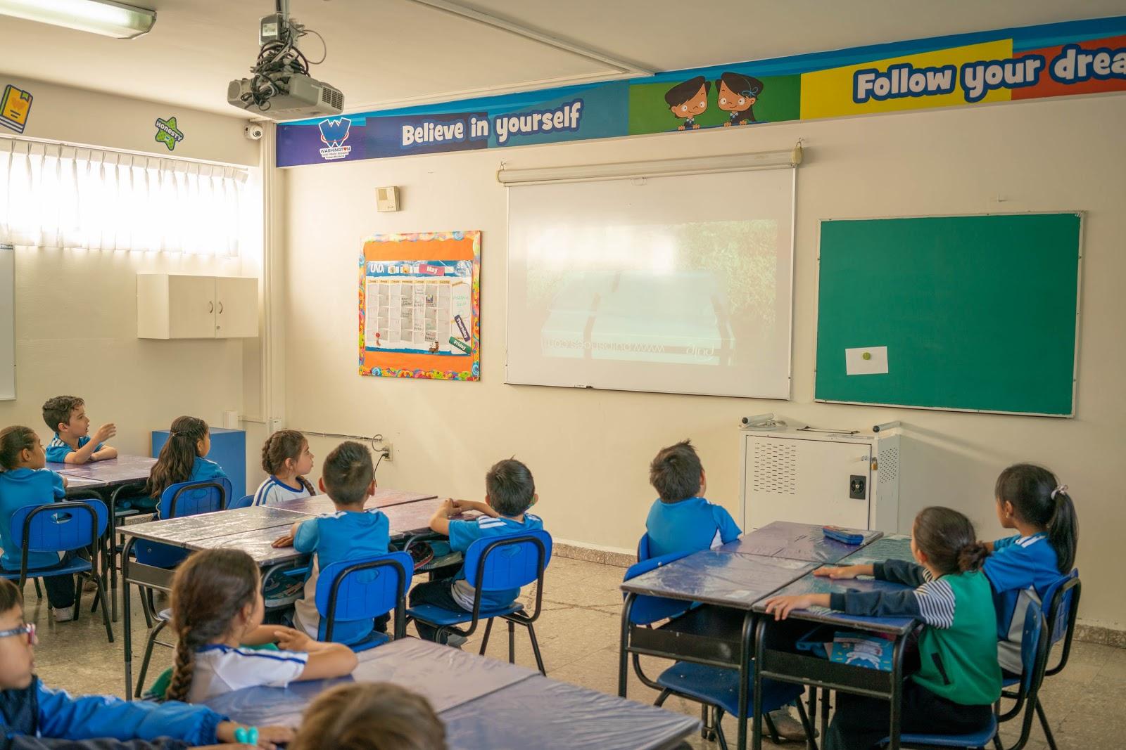 clases-de-ingles-primaria-colegio-washington