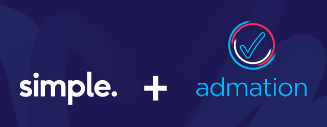 Simple+Admation Merger Banner