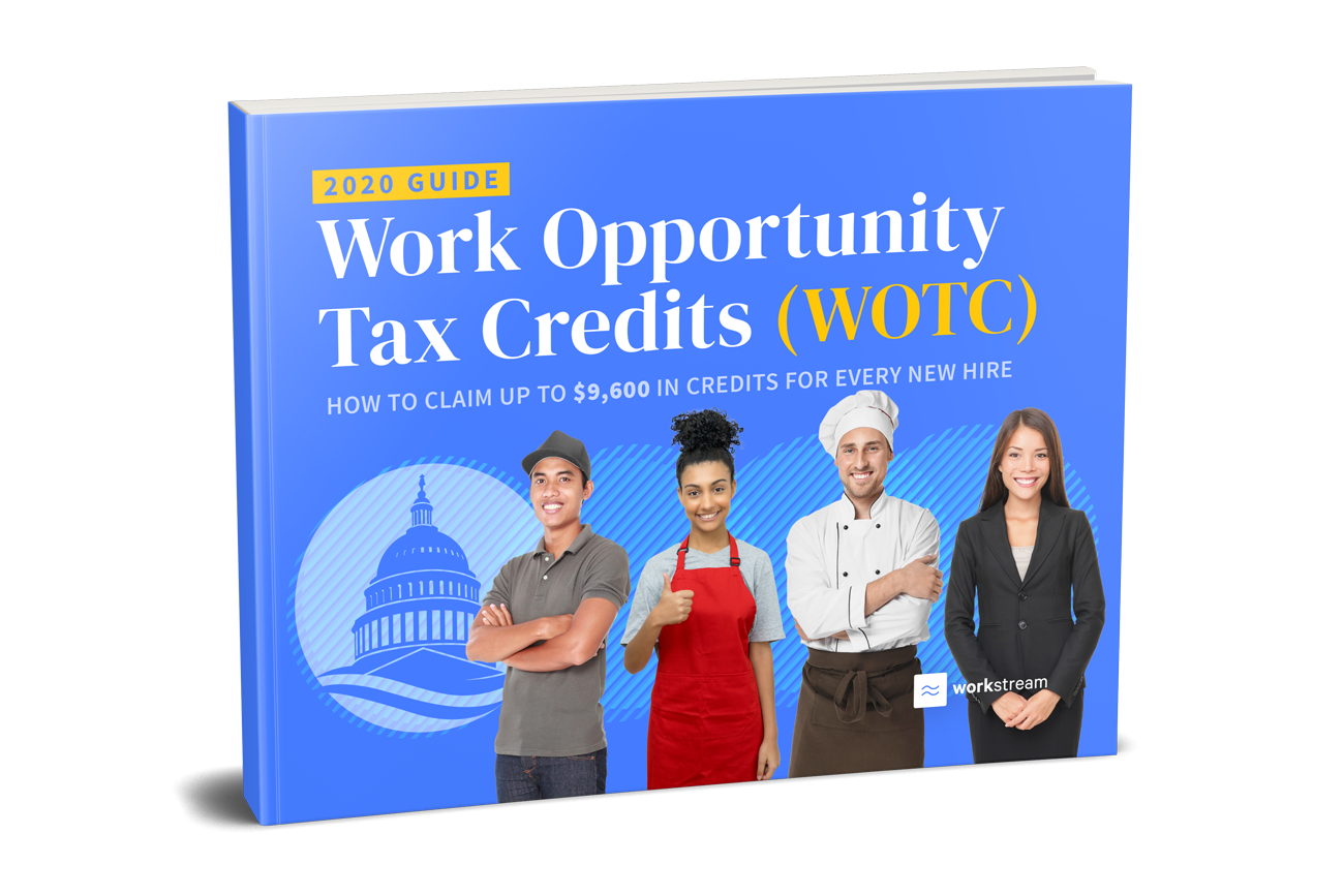 workstream wotc work opportunity tax credits 2020 guide