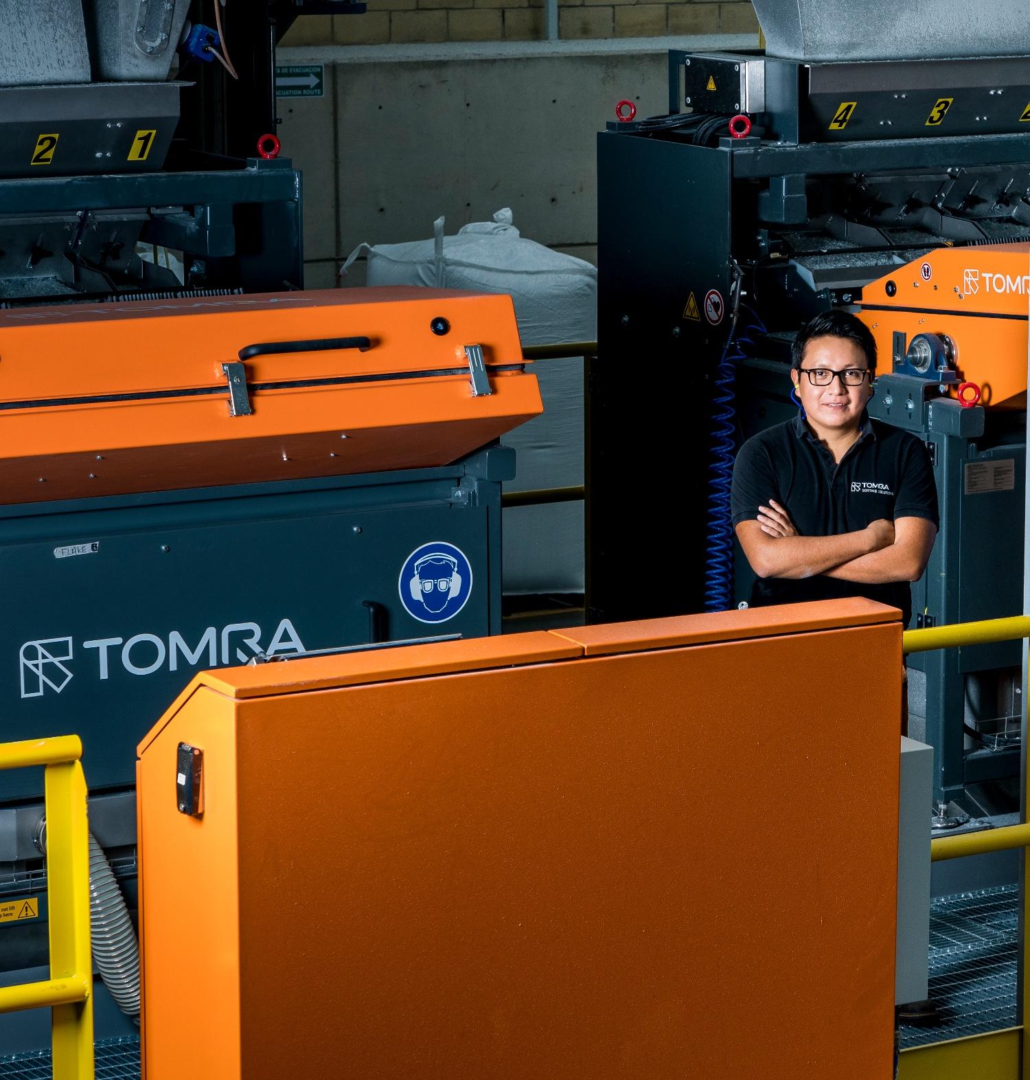 Julio Barrientos, Recycling Sales Manager de TOMRA en México-1