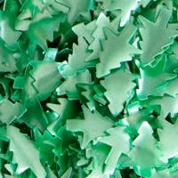Edible Glitter Christmas trees