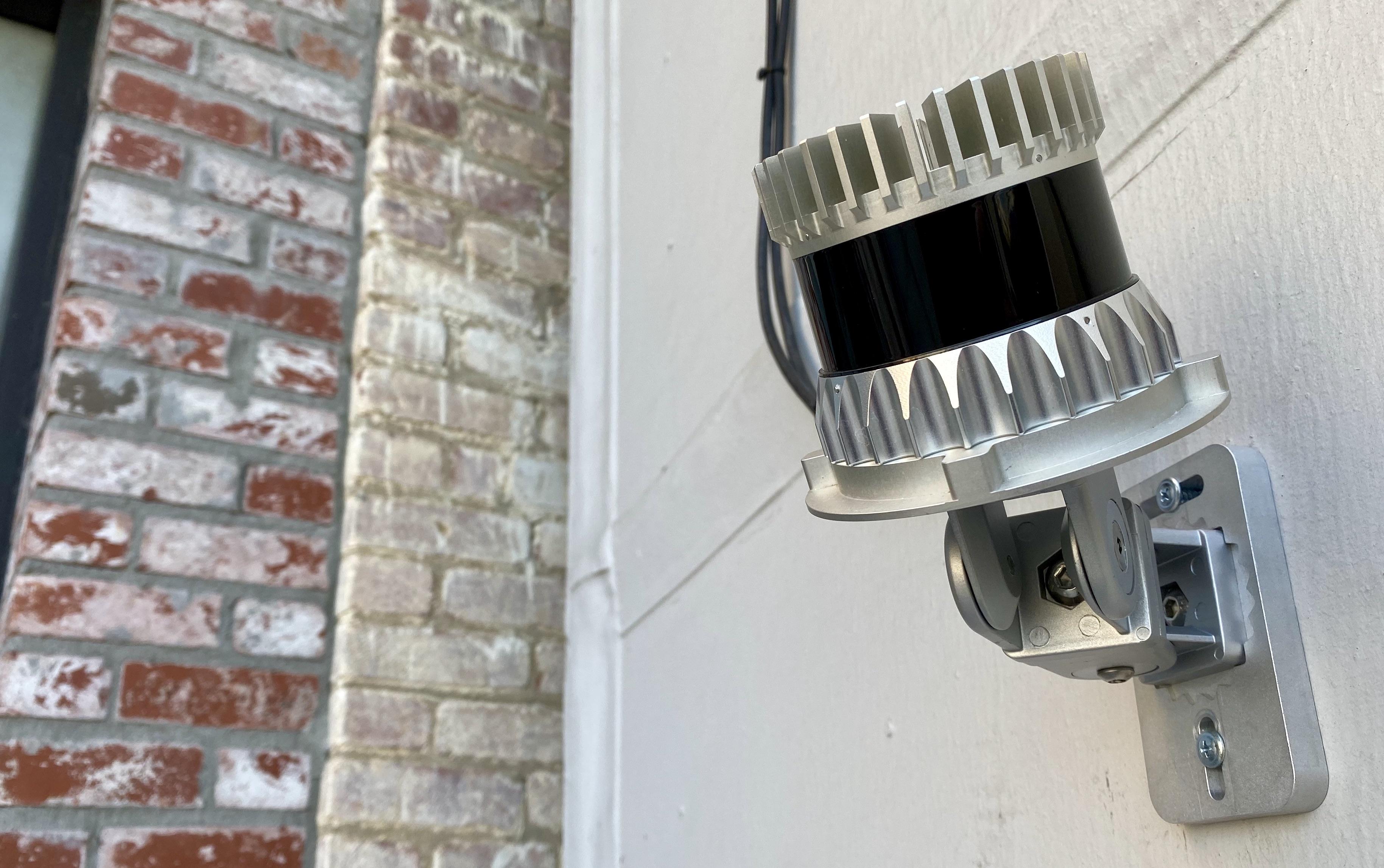 Lidar sensor for perimeter security