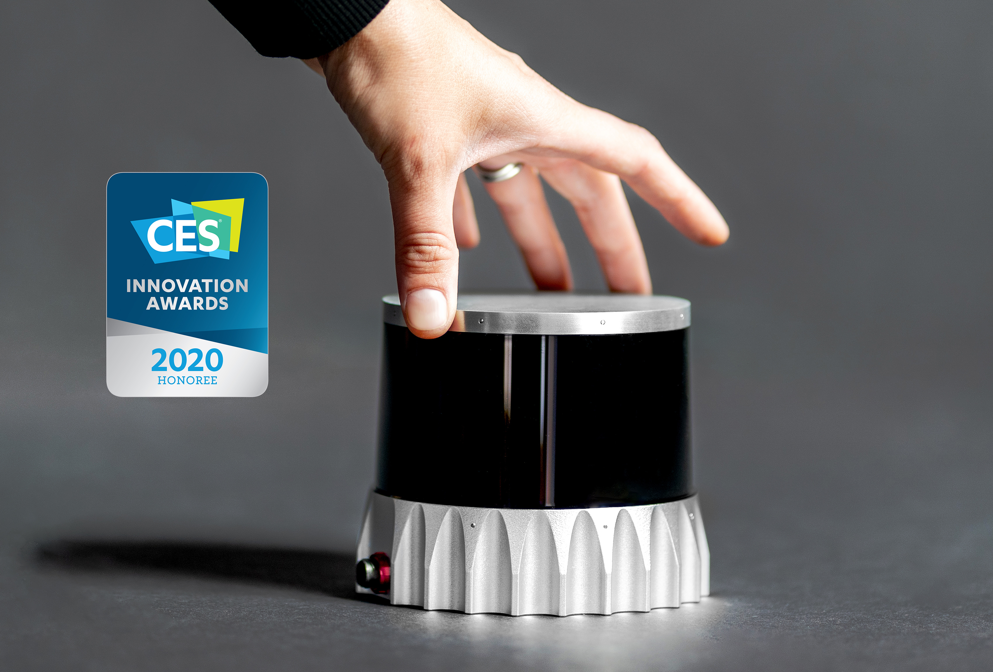Ouster OS2 Lidar sensor won a 2020 CES Innovation award