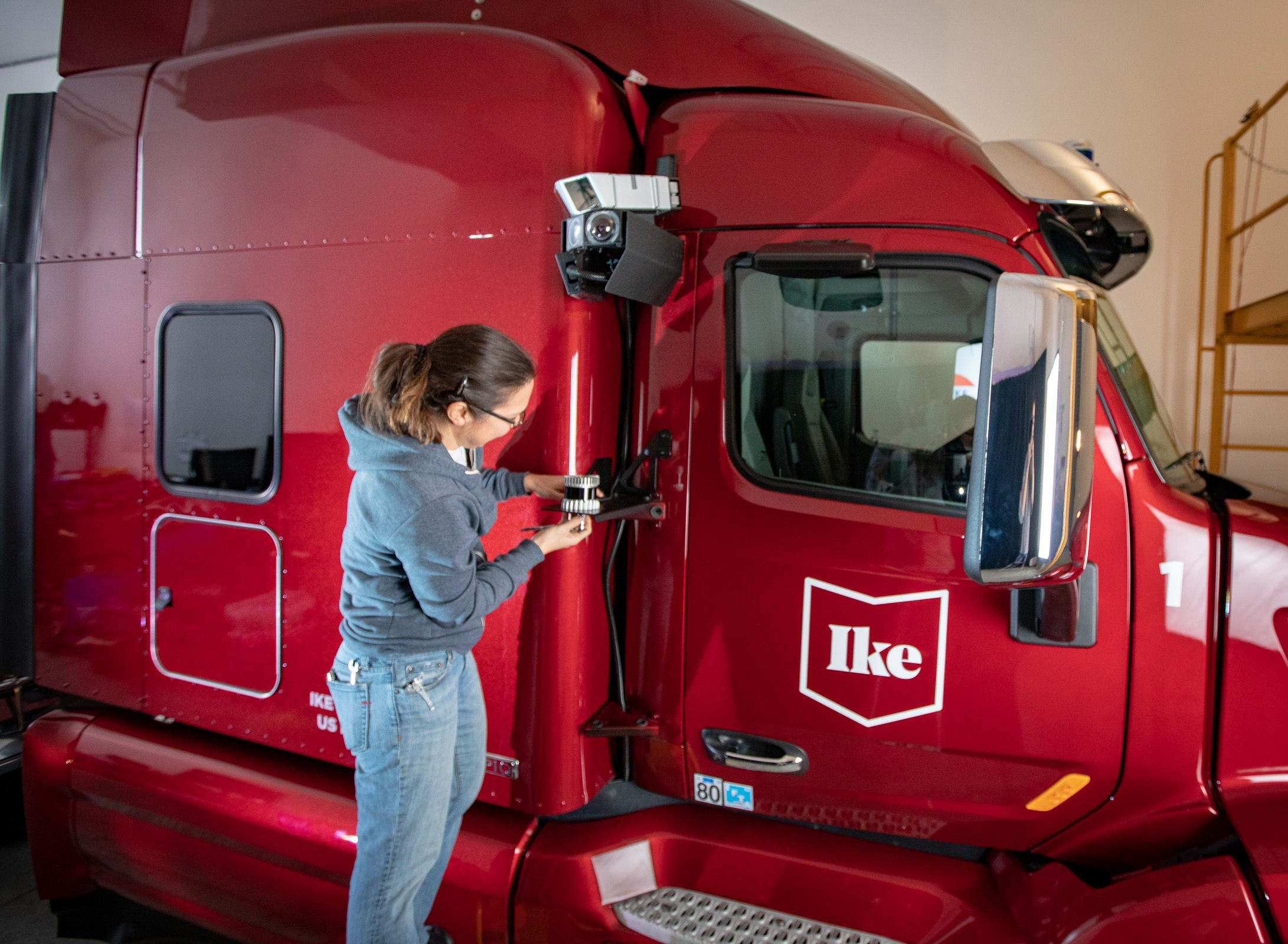 Ike Robotics uses Ouster lidar sensors