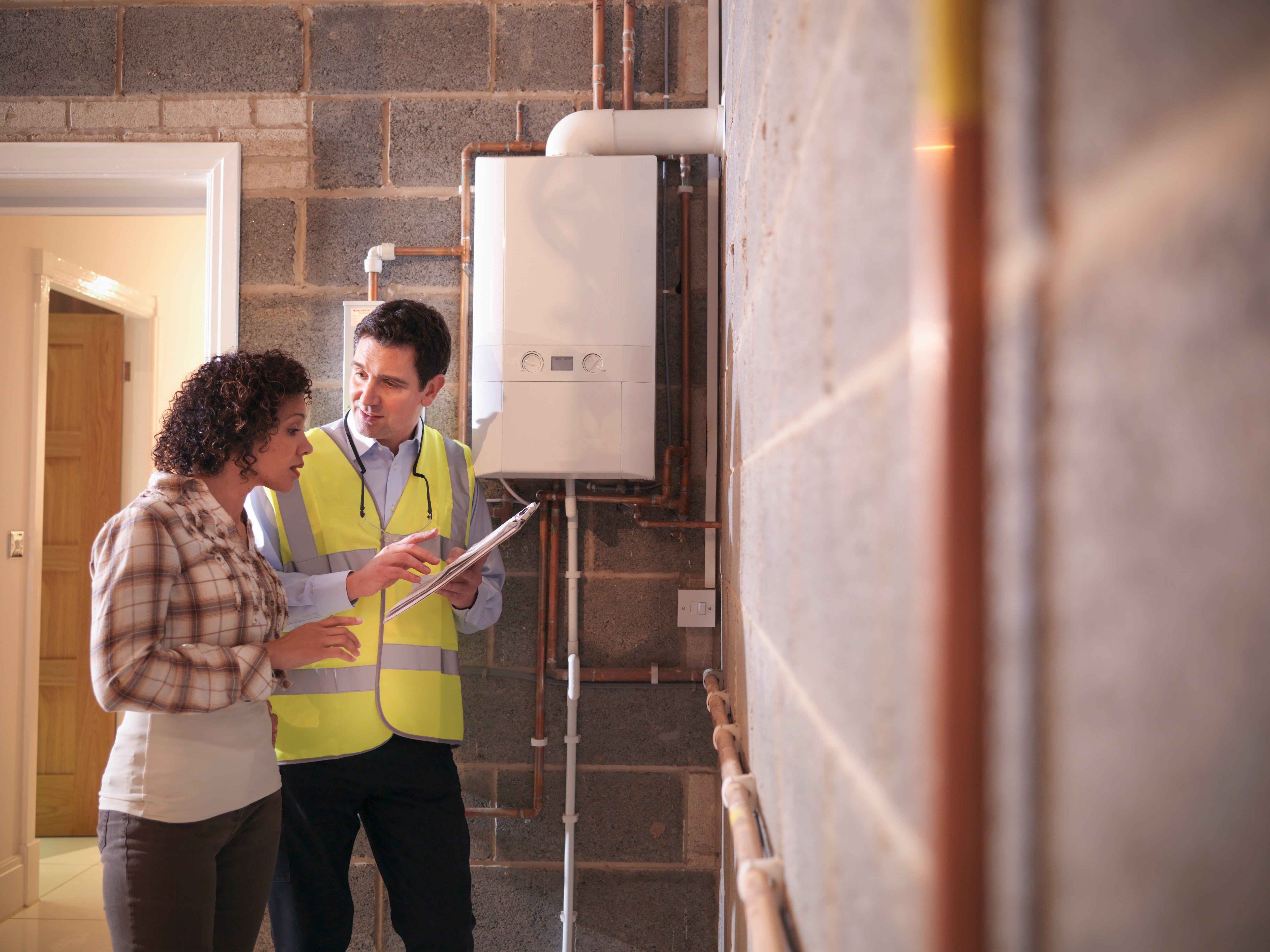 Working with a certified home performance contractor can help you discover how to heat a large old house efficiently and keep the heated air inside your home.