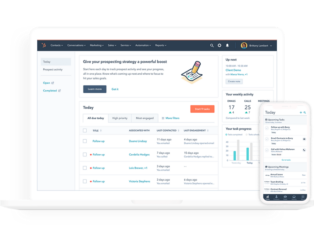 HubSpot Announces Major Upgrade To Its Sales CRM, Marrying Enterprise Power With Consumer Ease-of-Use